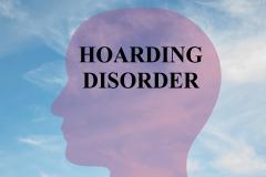 Hoarding Disorder - mental concept