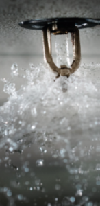 A broken sprinkler can release gallons of water quickly and cause major water damage